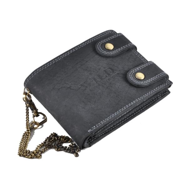 Always Wild biztonságos pénztárca koptatott bőrből 2900