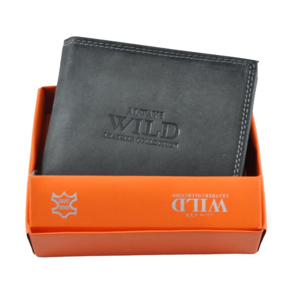 Always Wild férfi pénztárca koptatott bőrből N992