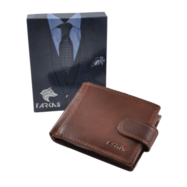 FARKAS RFID bőrpénztárca (kis méretű) 38652