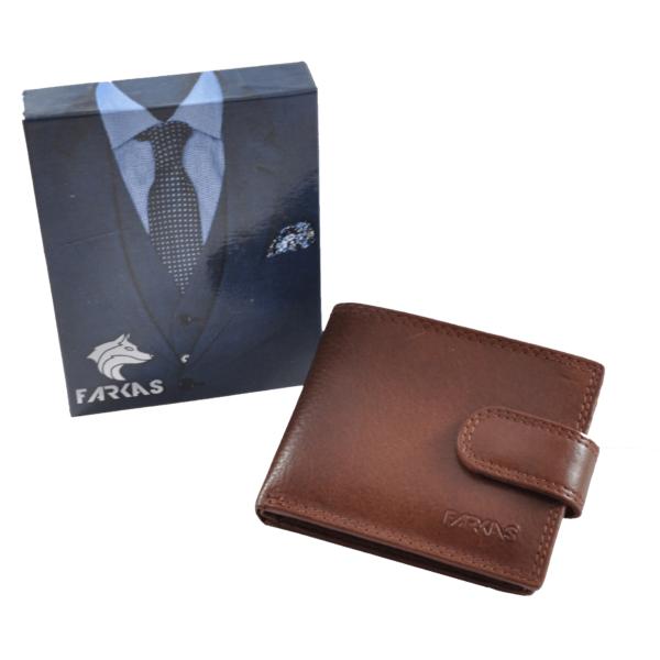 FARKAS RFID bőrpénztárca (kis méretű) 38654