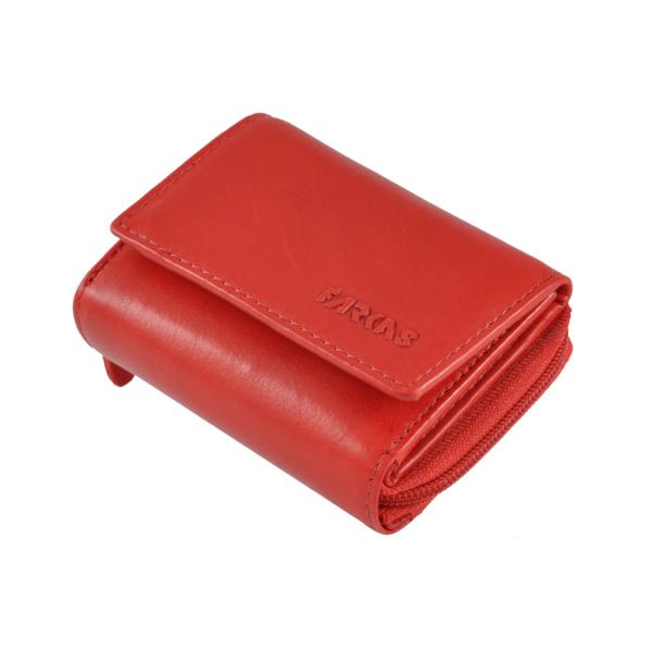 Farkas kis méretű női bőrpénztárca RFID védelemmel 64501