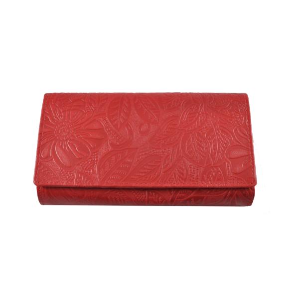 FARKAS pénztárca vidám virág mintával