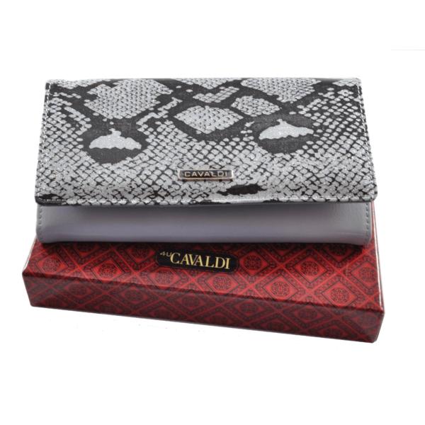 Cavaldi bőrpénztárca, fényes hatás PL27