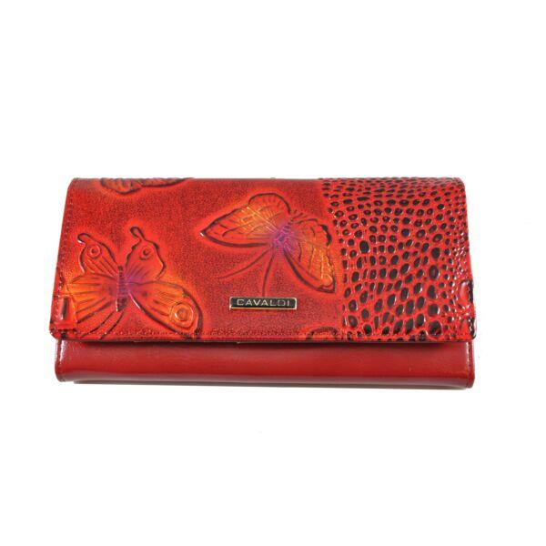 Cavaldi bőrpénztárca, fényes hatás pn27