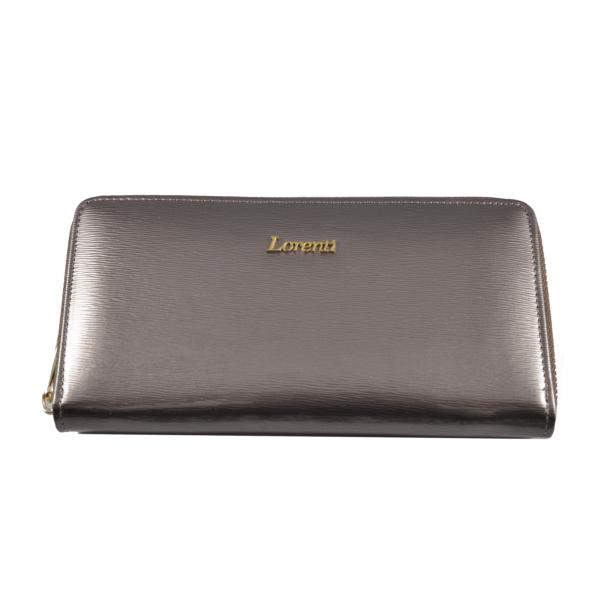 Lorenti metálos lakkpénztárca 77006sh