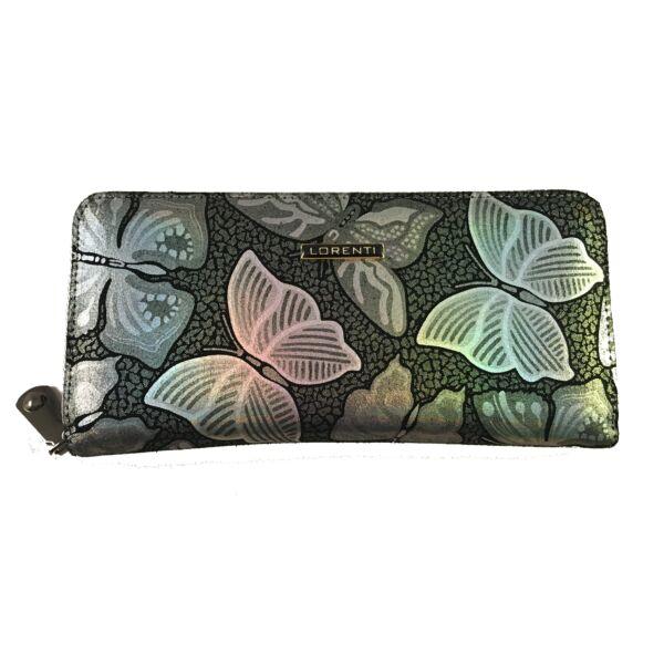 Lorenti pillangós pénztárca, színváltós 77006