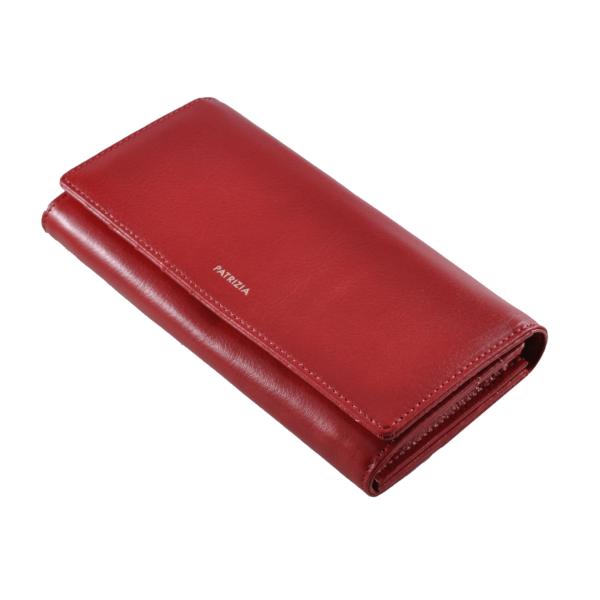 Patrizia piros bőrpénztárca IT106