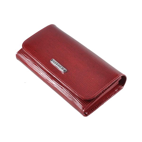 Gregorio elegáns lakkpénztárca mintával, RFID védelemmel LN110