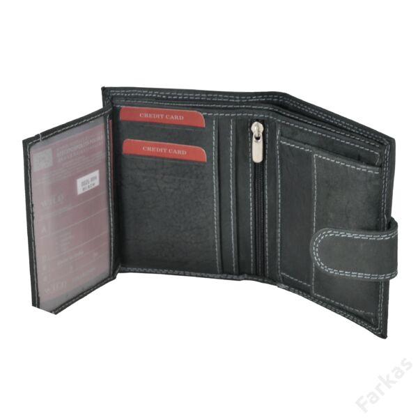 Always Wild fekete pénztárca 002