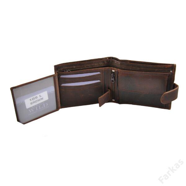 Always Wild nagy méretű, sportos bőrpénztárca 1094