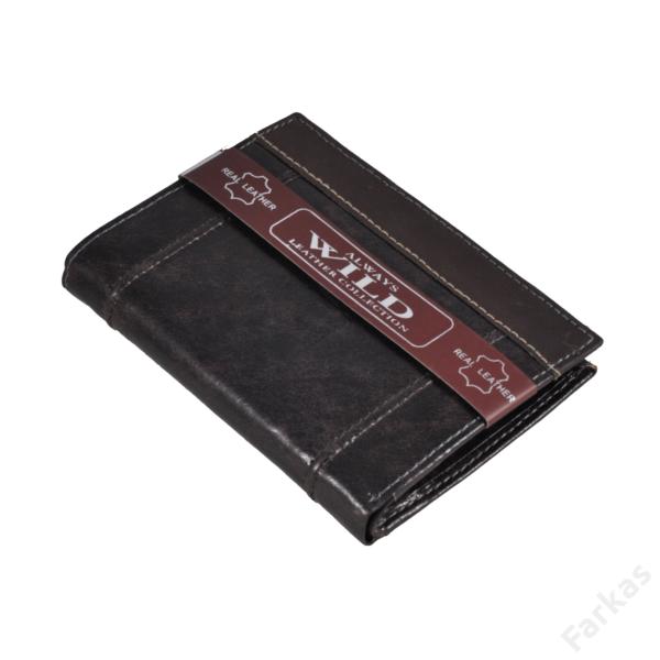 Always Wild álló fazonú bőrpénztárca, irattartó N4DIS