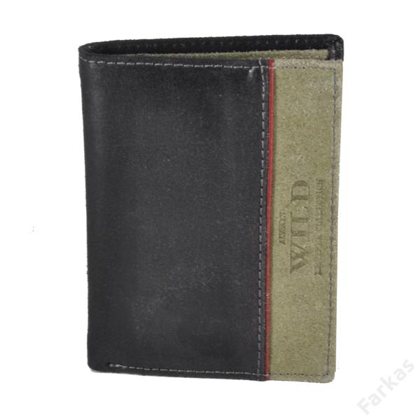 Always Wild álló fazonú bőrpénztárca, irattartó N4SHS