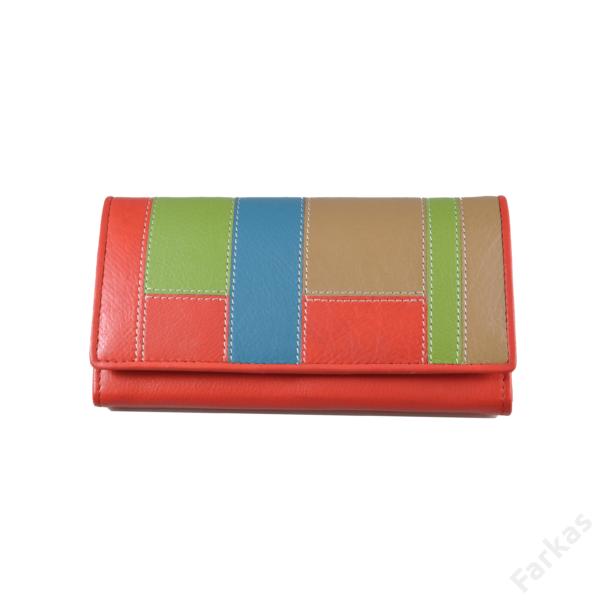 American Pride multicolor pénztárca 109111