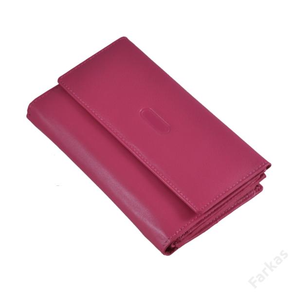 Pink bőrpénztárca 78627