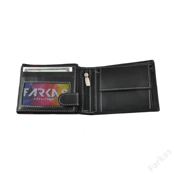 American Pride bőrpénztárca elegáns betéttel