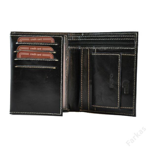 Buffalo Wild fekete pénztárca 41