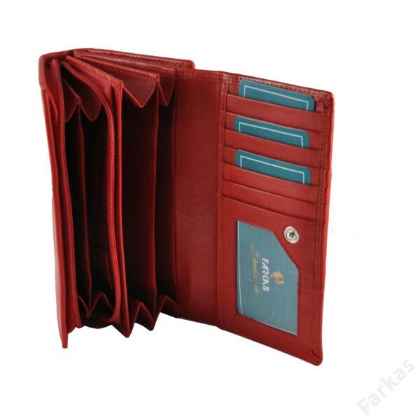 Farkas RFID bőrpénztárca, brifkó-fazon 16002