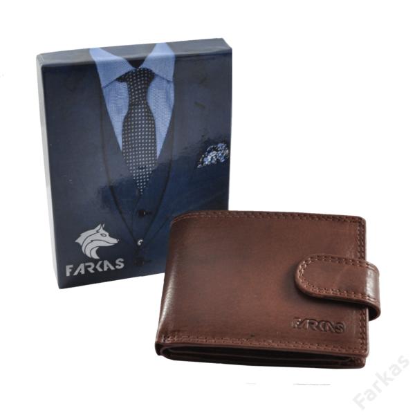 FARKAS RFID bőrpénztárca (kis méretű) 38650
