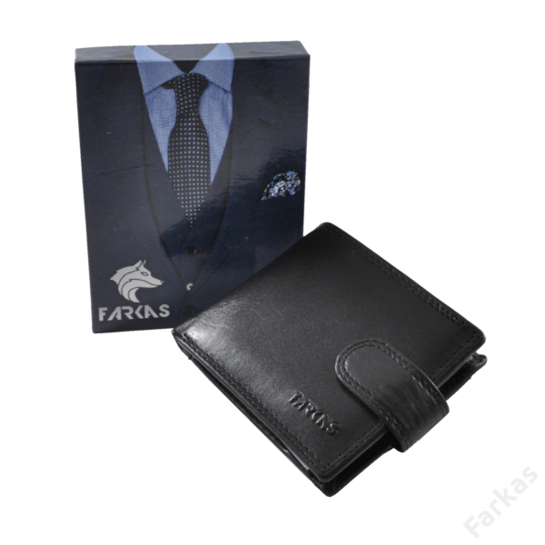 FARKAS RFID bőrpénztárca (kis méretű) 38653