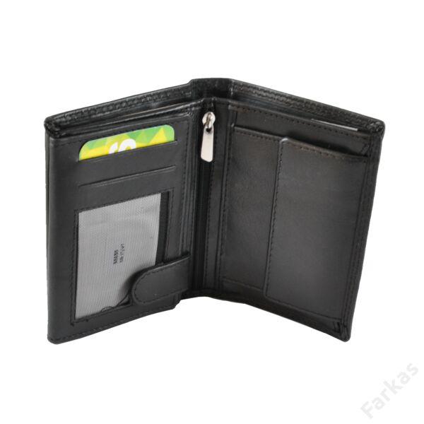 FARKAS RFID álló fazonú bőrpénztárca, irattartó 38659