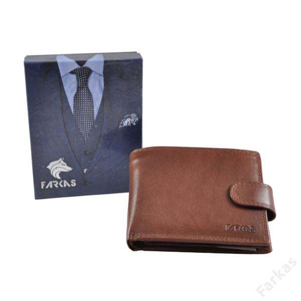 Elegáns Farkas RFID pénztárca