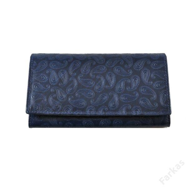 Farkas nyomott mintás bőrpénztárca csepp 8670.2.1