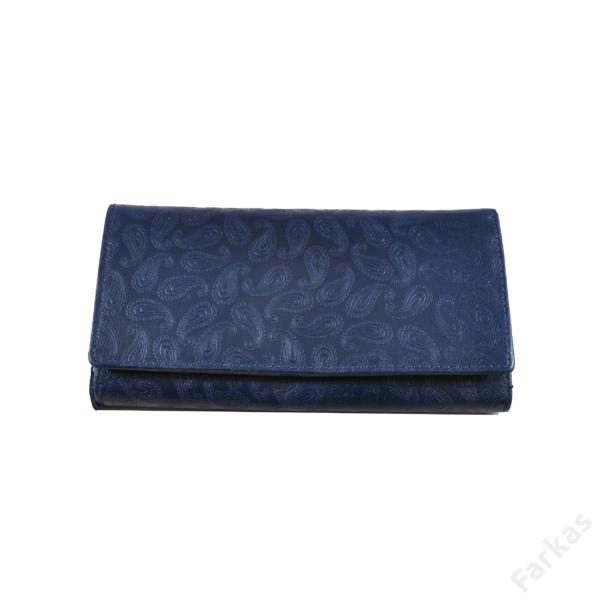 Farkas nyomott mintás bőrpénztárca csepp 8671.2.1