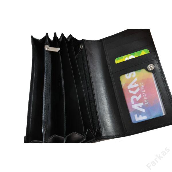 Farkas nyomott mintás pénztárca csepp 8672.8.1