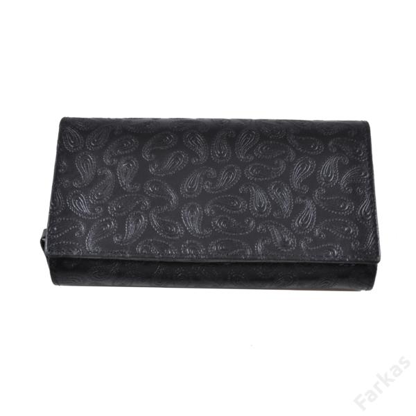 Farkas nyomott mintás bőrpénztárca csepp 8674.8.1