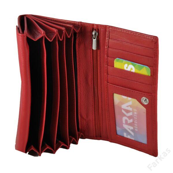 Farkas brifkó fazonú bőrpénztárca 4381