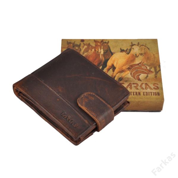 "FARKAS bőrpénztárca ""Western Edition"" 10462"