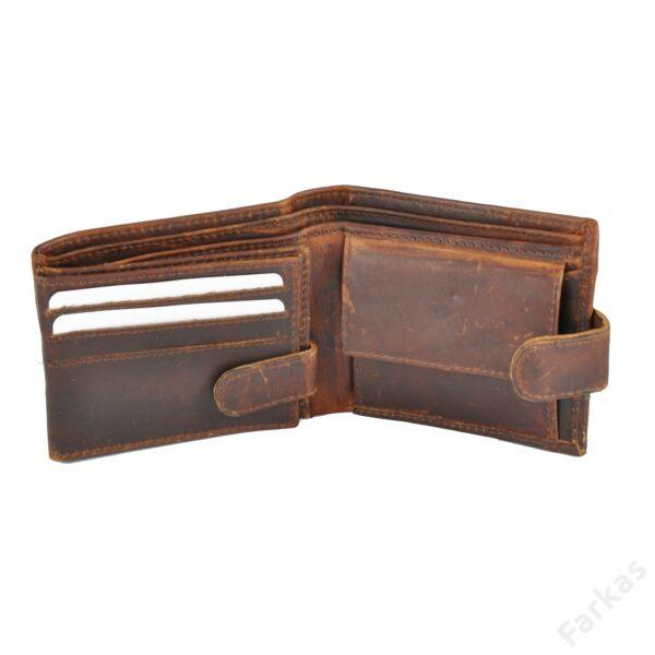 """FARKAS kis méretű bőrpénztárca """"Western Edition"""" 10512"""