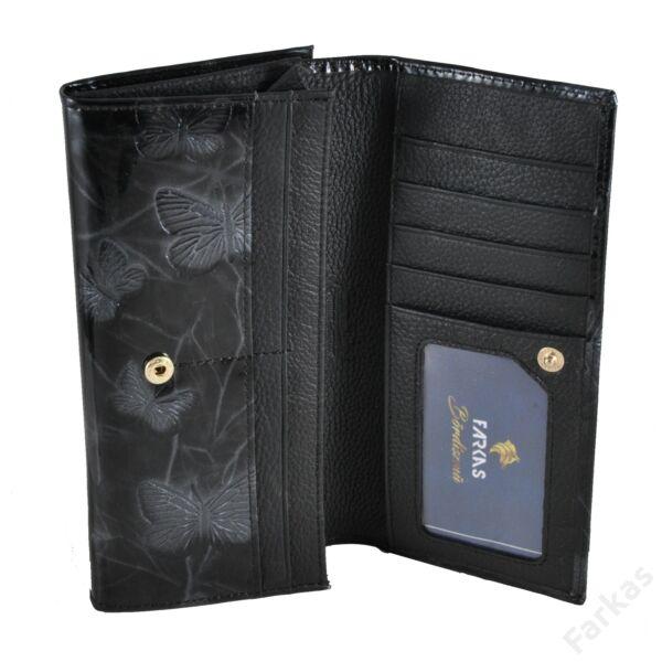 Alessandro keretes pénztárca pillangós mintával 3501