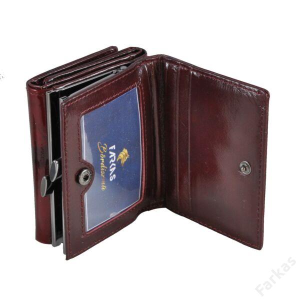 Angela Moretti kis méretű keretes lakkpénztárca