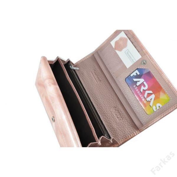 Alessandro lakkpénztárca pehely mintával 52481