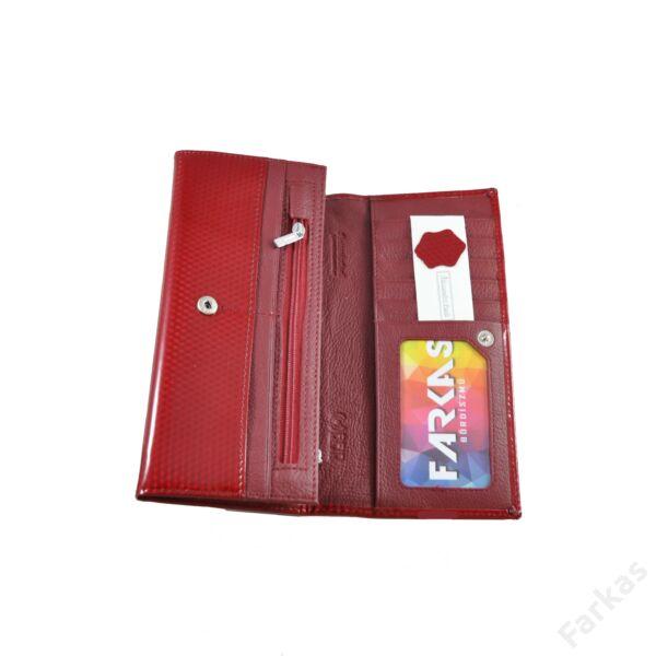 Alessandro piros lakkpénztárca 5307