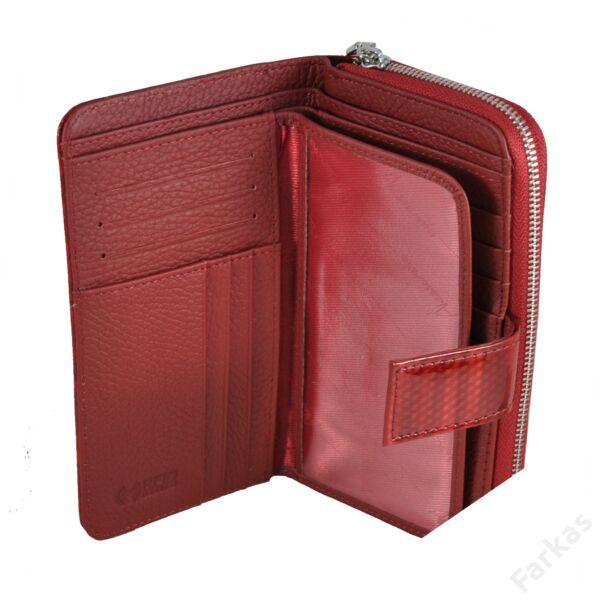 Alessandrop Paoli lakkbőr pénztárca, álló fazon 4317