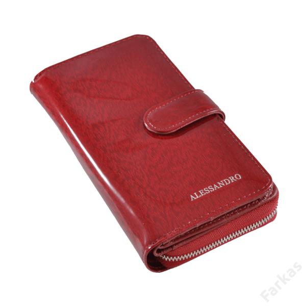 Alessandrop Paoli lakkbőr pénztárca, álló fazon 6517