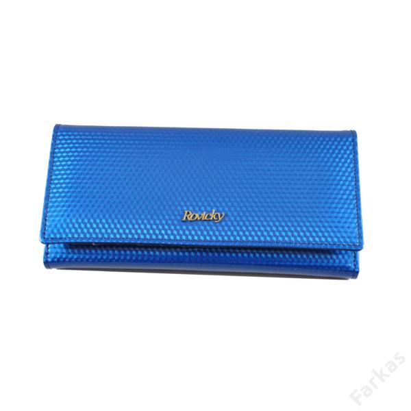 Rovicky kék lakkpénztárca 8805