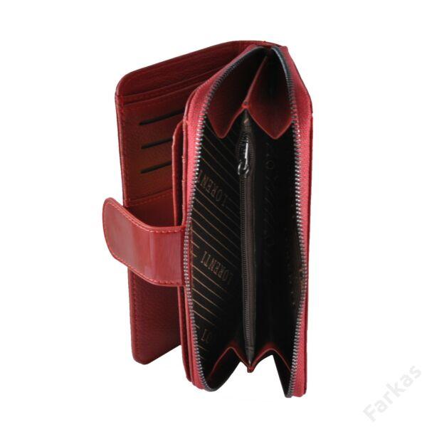 Alessandrop Paoli lakkbőr pénztárca, álló fazon