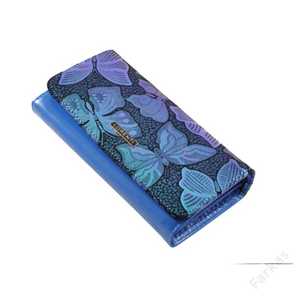 Lorenti pillangós pénztárca, színváltós hatás 76110sb